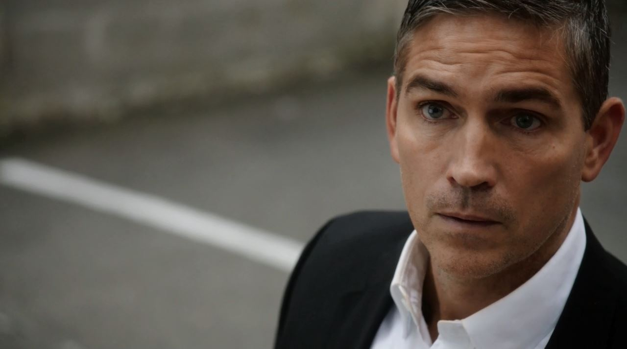 Jim Caviezel as Mr. Reese. Person of Interest S4Ep9 The Devil You Know Review