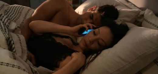 Joan Watson (Lucy Liu) in bed with Andrew Mittal - Elementary Just a Regular Irregular Review