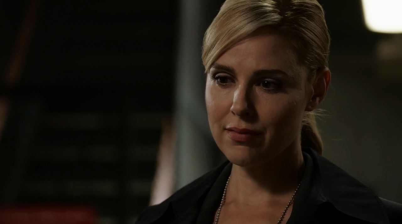Martine Rousseau  (played by Cara Buono). Person of Interest S4Ep9 The Devil You Know Review