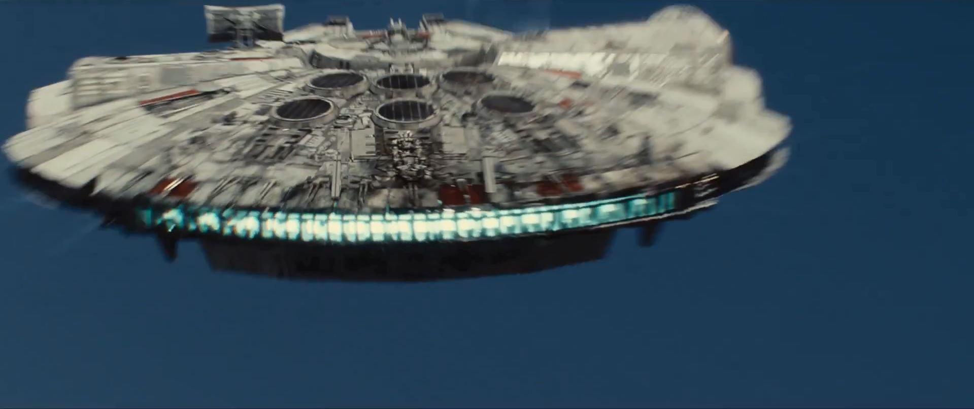 New Millennium Falcon - Star Wars Episode 7 trailer released