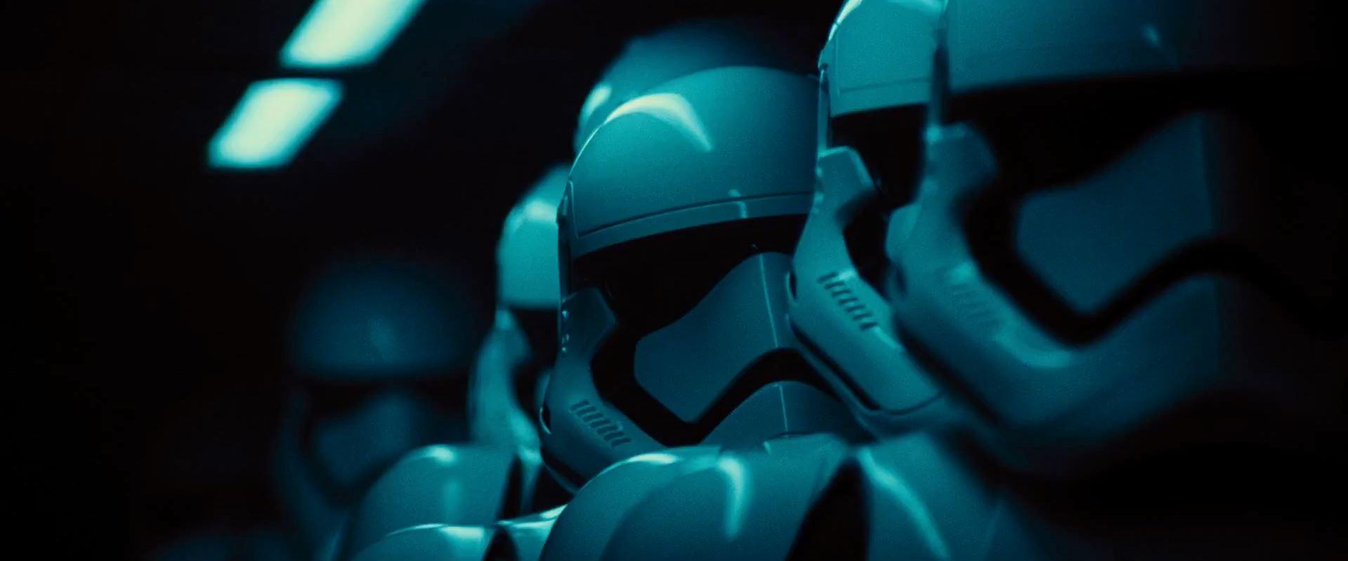 New storm troopers - Star Wars Episode 7 trailer released
