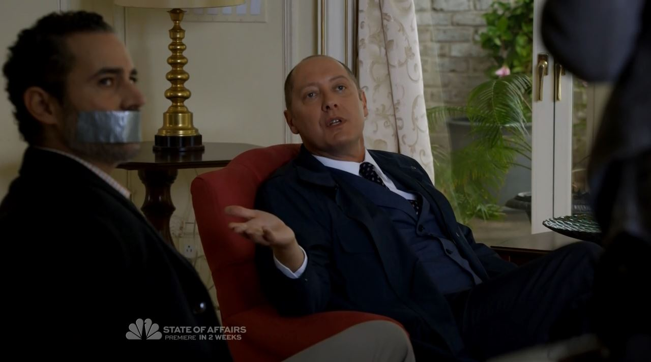 Reddington offer The Scimitar as a gift - The Blacklist S2ep7 The Scimitar Review