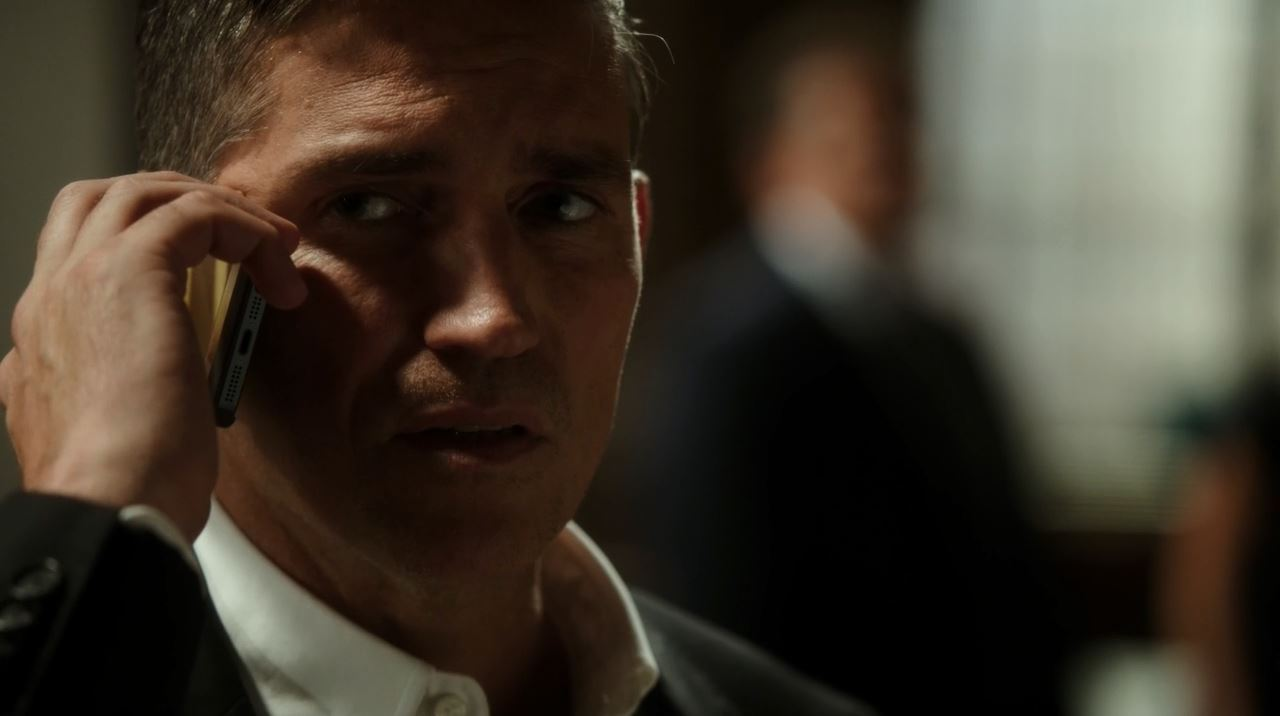 Reese on the phone. Person of Interest Point of Origin Review