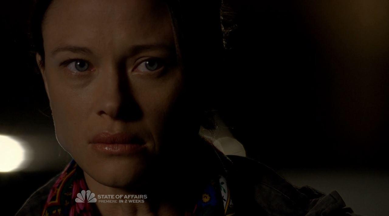 Scottie Thompson as Zoe - Berlin's daughter - The Blacklist S2ep7 The Scimitar Review
