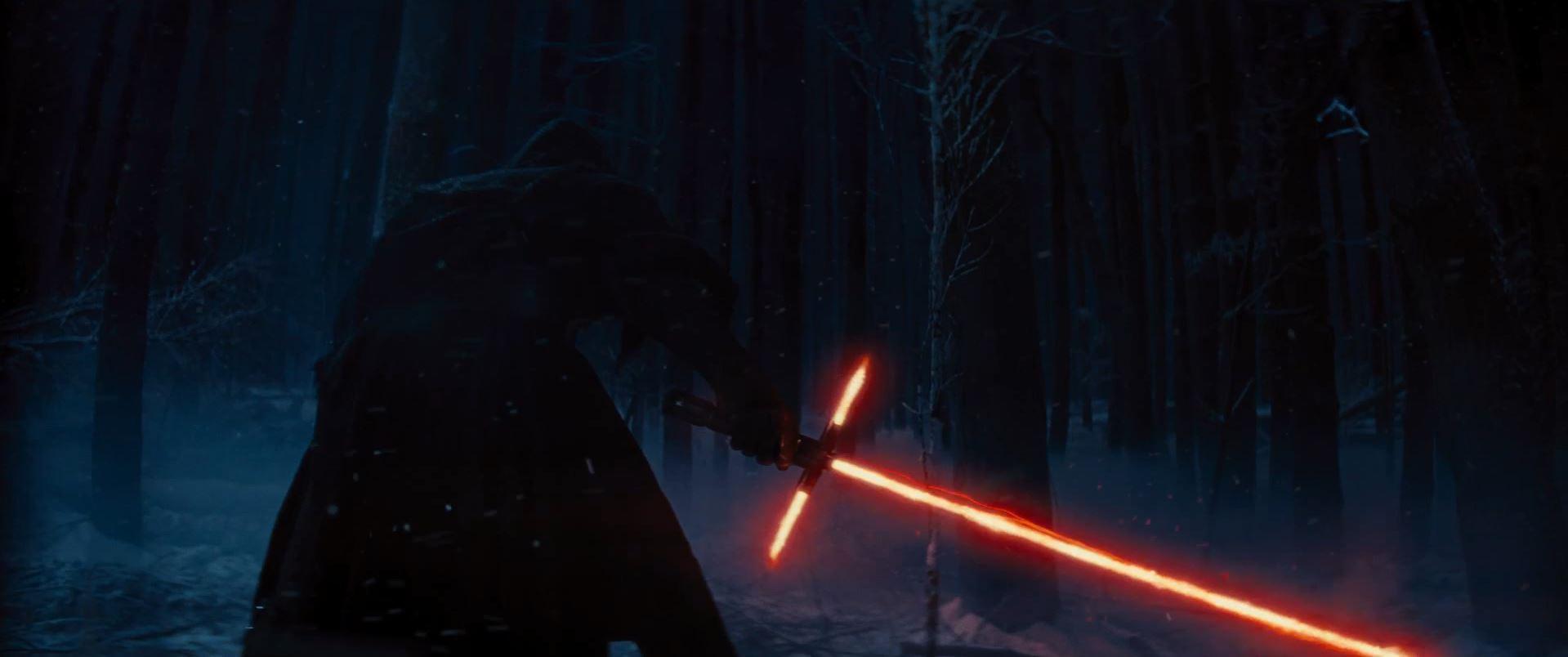 Sith lord unveils light saber - Star Wars VII Lightsaber