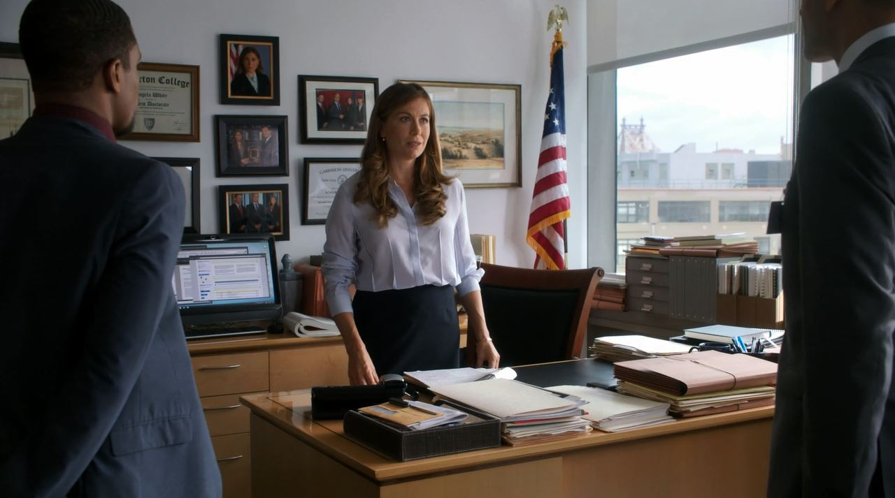 Sonya Walger as Angela White - Elementary The Five Orange Pipz
