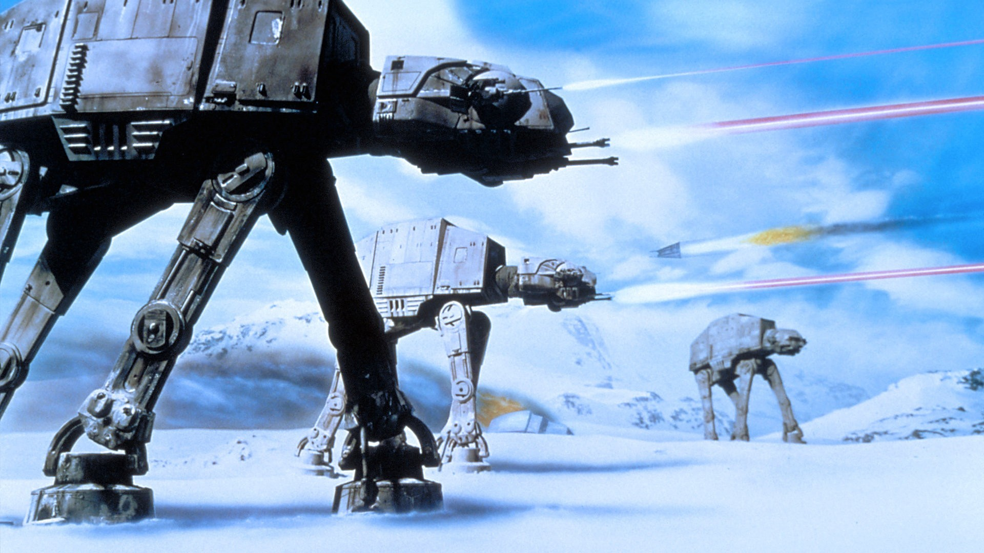 star wars battle of hoth wallpaper scifiempire. Black Bedroom Furniture Sets. Home Design Ideas
