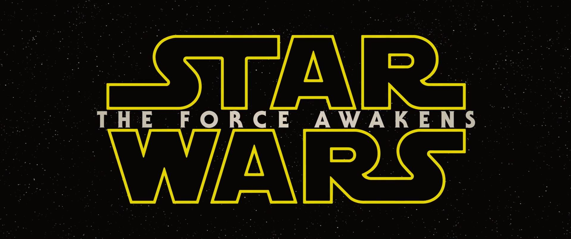 The Force Awakens Logo - Star Wars Episode 7 trailer released