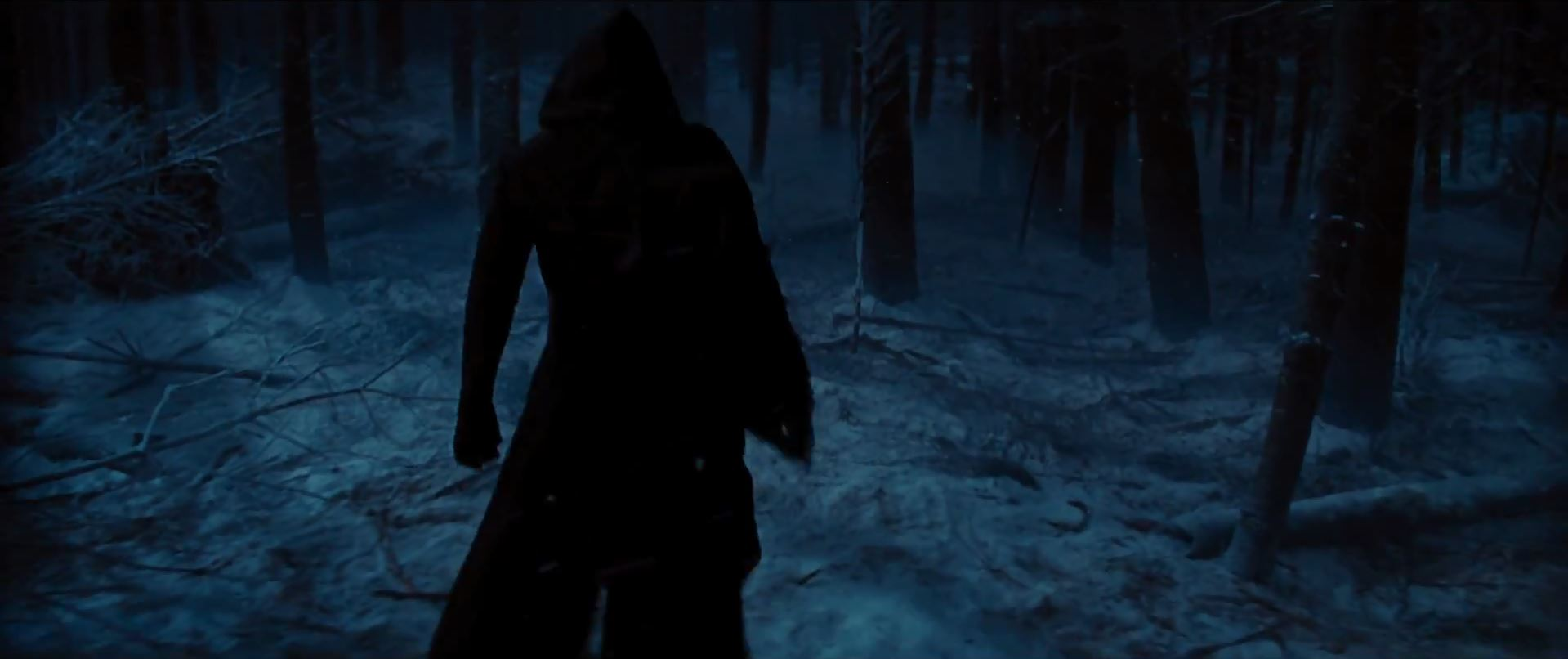 Villain in woods - Star Wars Episode 7 trailer released