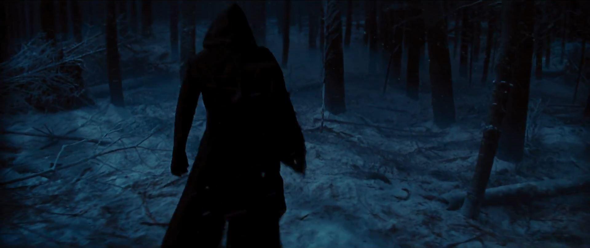 Villain in woods - Star Wars Episode 7 trailer released