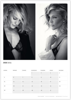 Acting Outlaws 2015 Calendar - Katee Sackhoff and Tricia Helfer