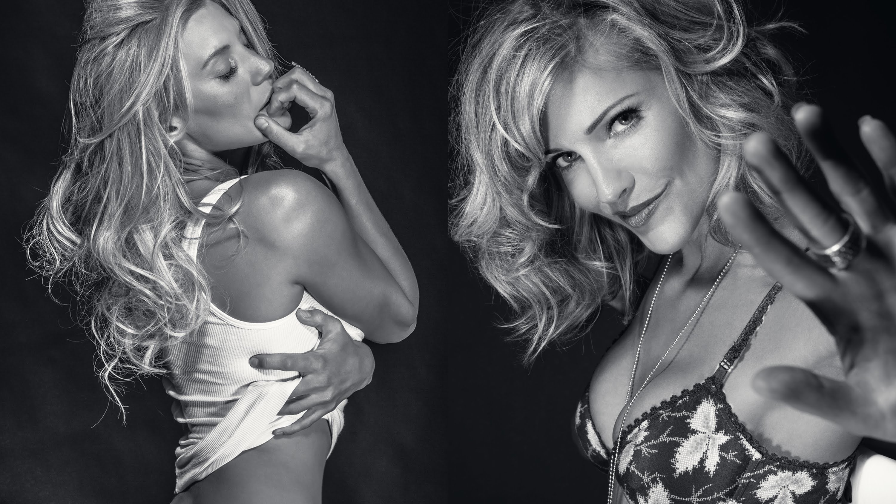 Katee and Tricia again in 2015 Acting Outlaws Calendar