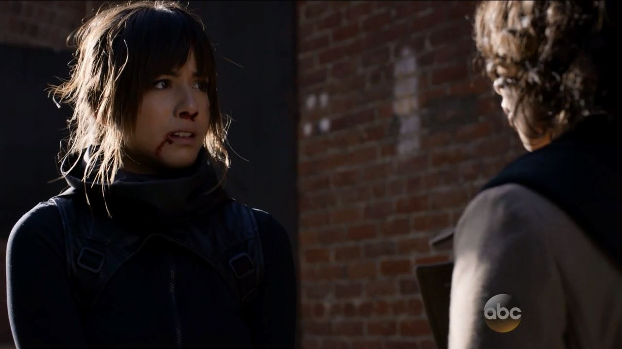 Skye (Chloe Bennet) confronts Raina - Agents of SHIELD S2Ep9 Ye Who Enter Here Review
