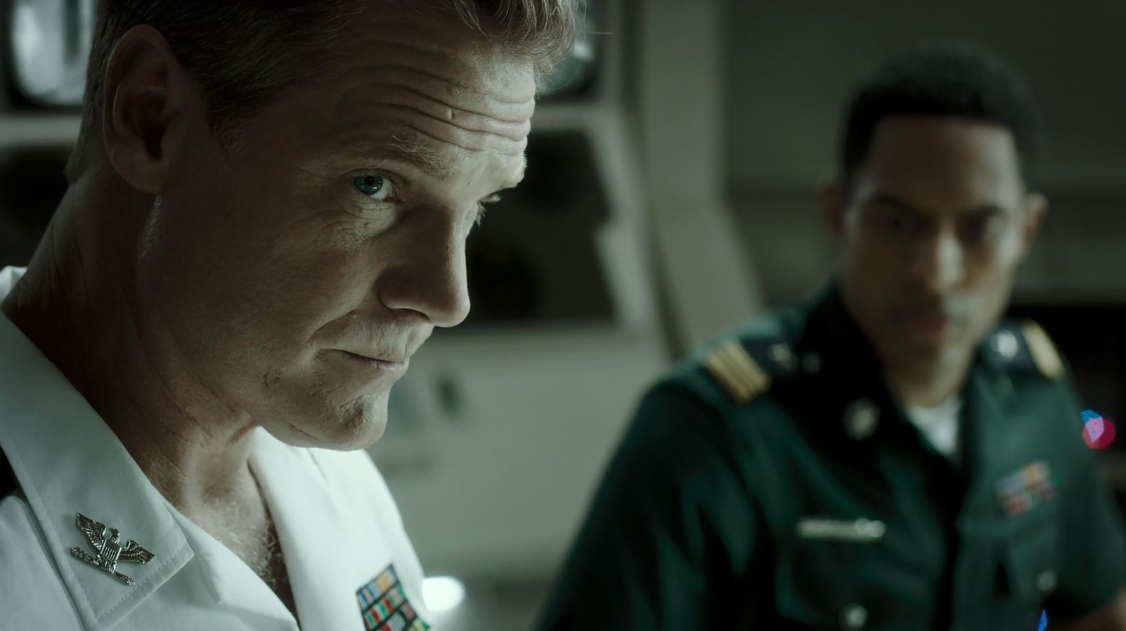 Syfy Ascension Night One Review - Brian Van Holt as William Denninger - Captain of the ship