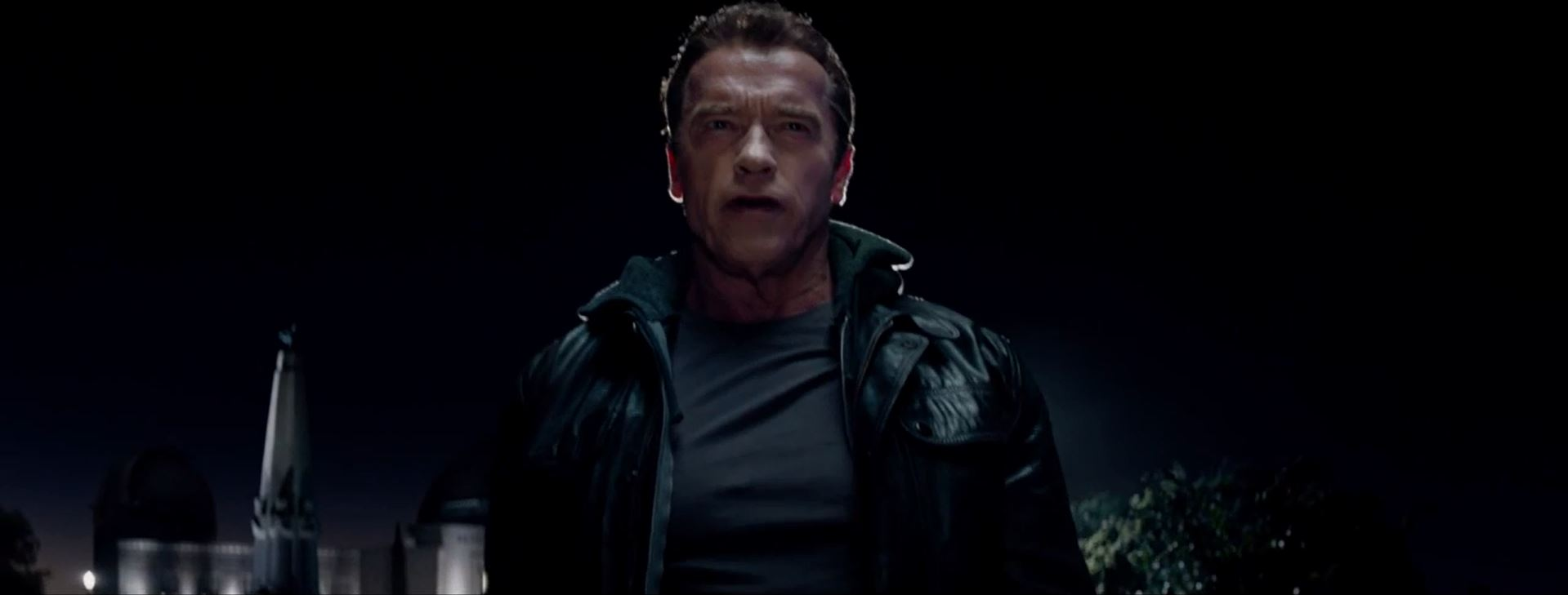 Terminator Genisys aged Arnold Schwarzenegger as the Terminator