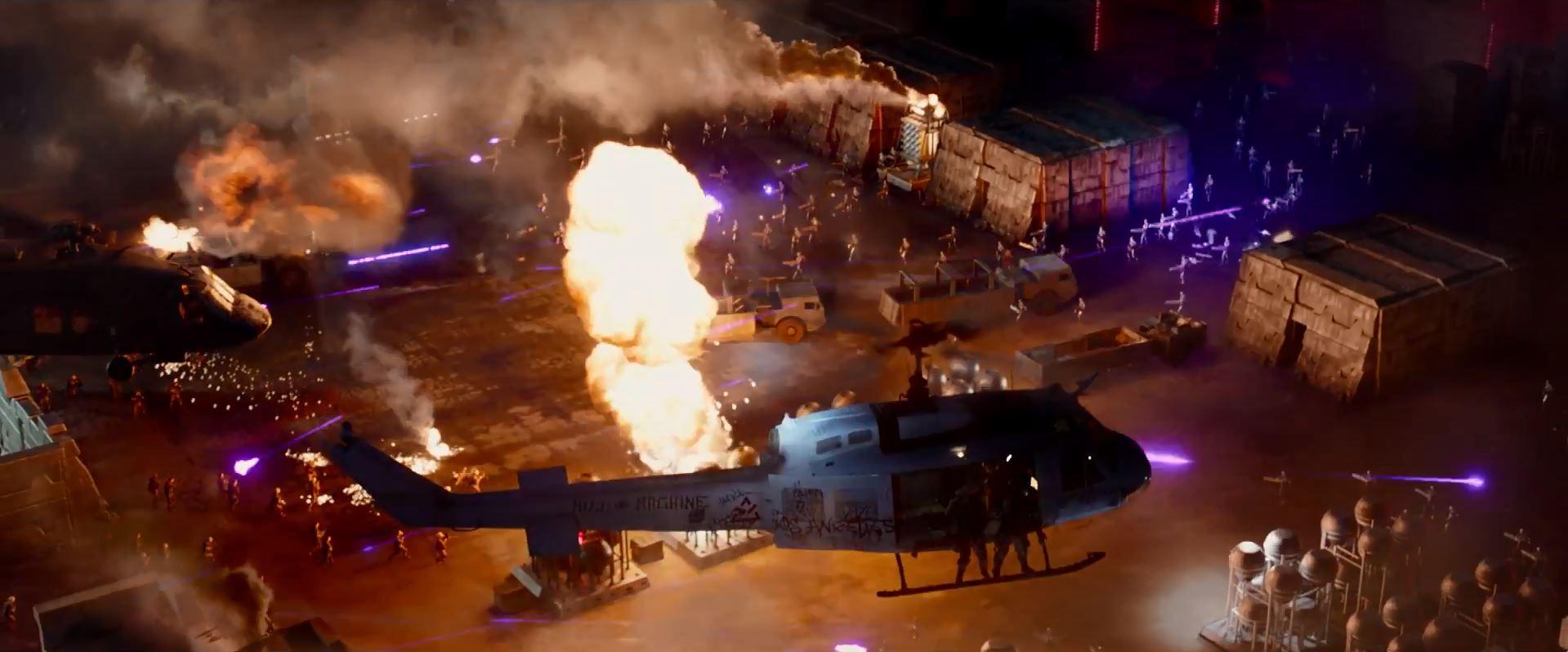 Terminator Genisys future war