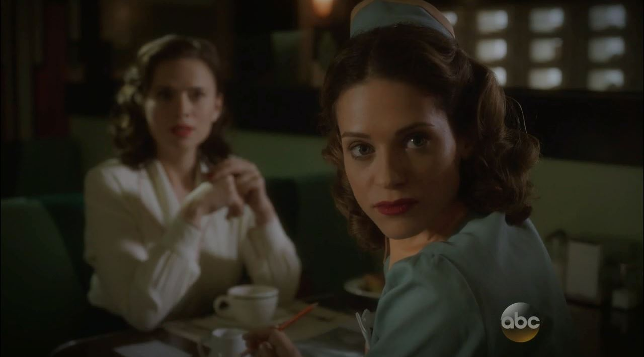 Agent Carter Series Premiere Review - Lyndsy Fonseca as Angie Martinelli