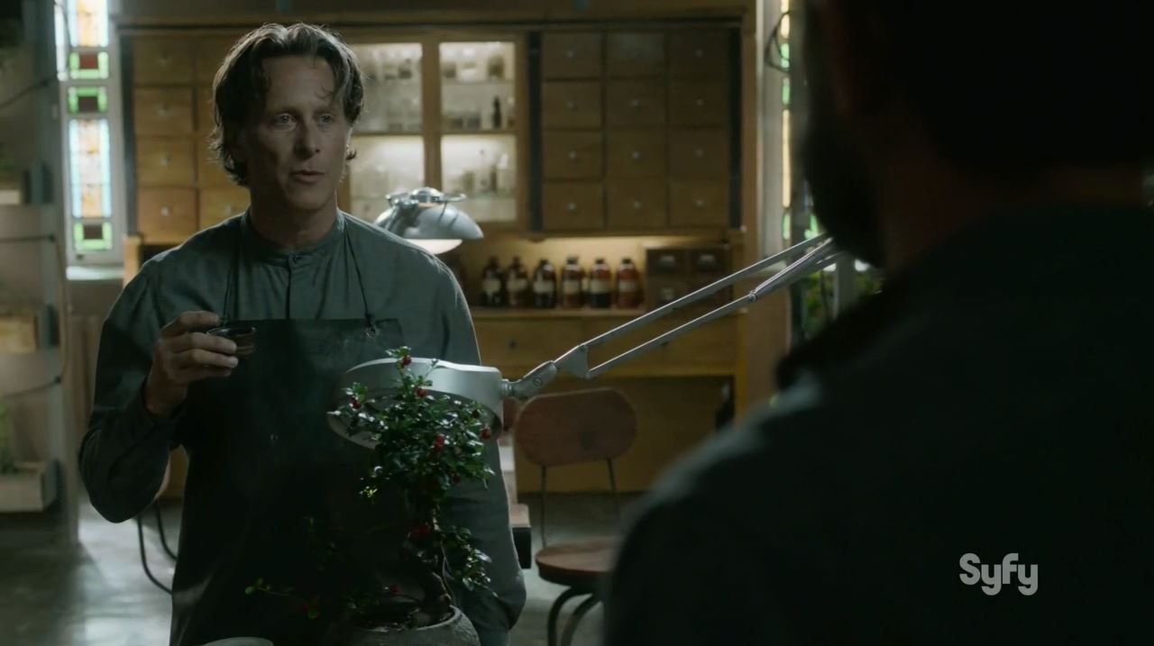 Helix S2Ep2 Reunion Review. Steven Weber as Brother Michael