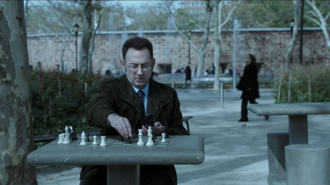 Person of Interest S4Ep11 If-Then-Else Review - Finch teaching The Machine to play chess