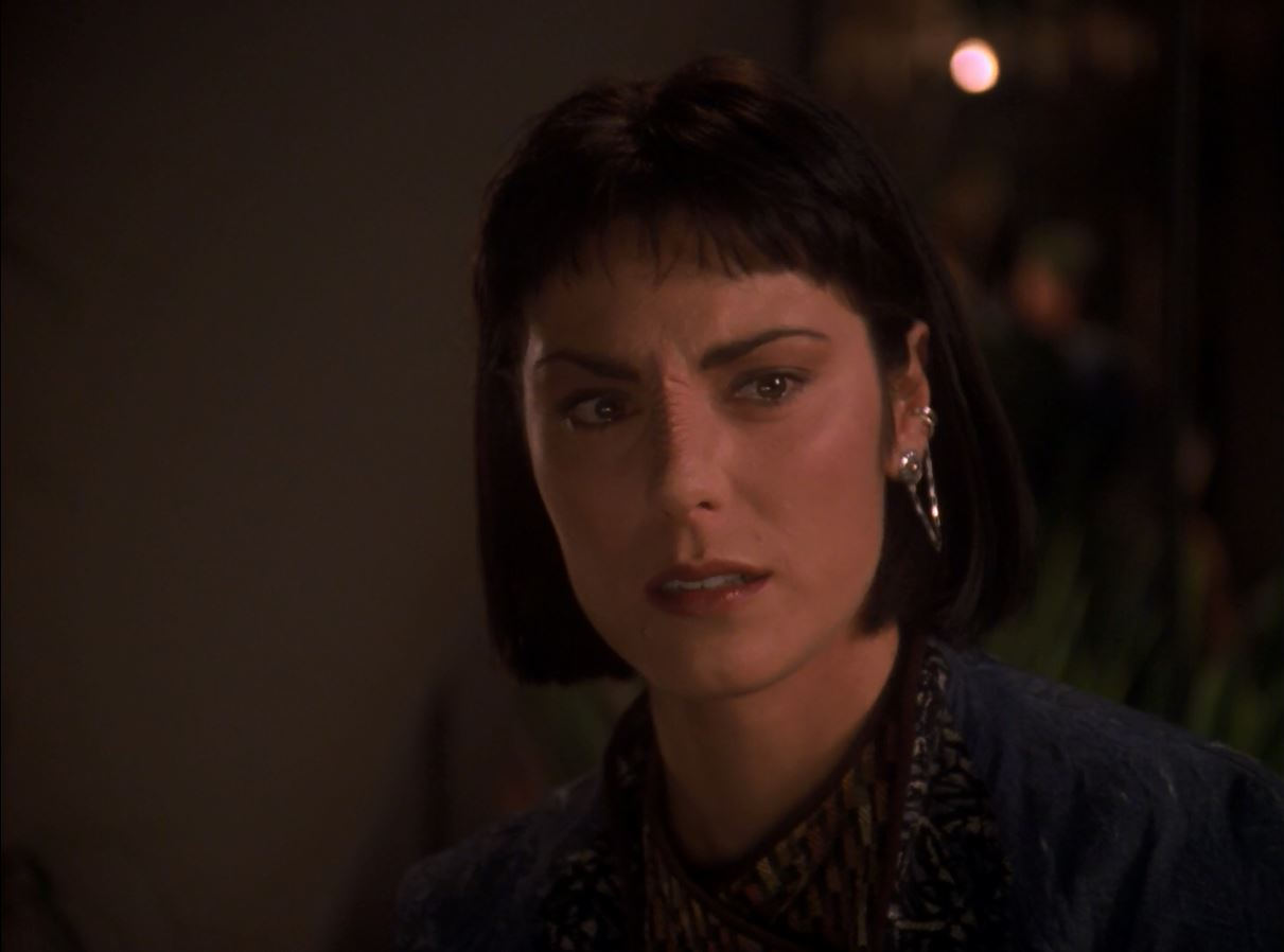 Star Trek TNG Season 7 Blu-ray Review. Michelle Forbes as Ro Laren