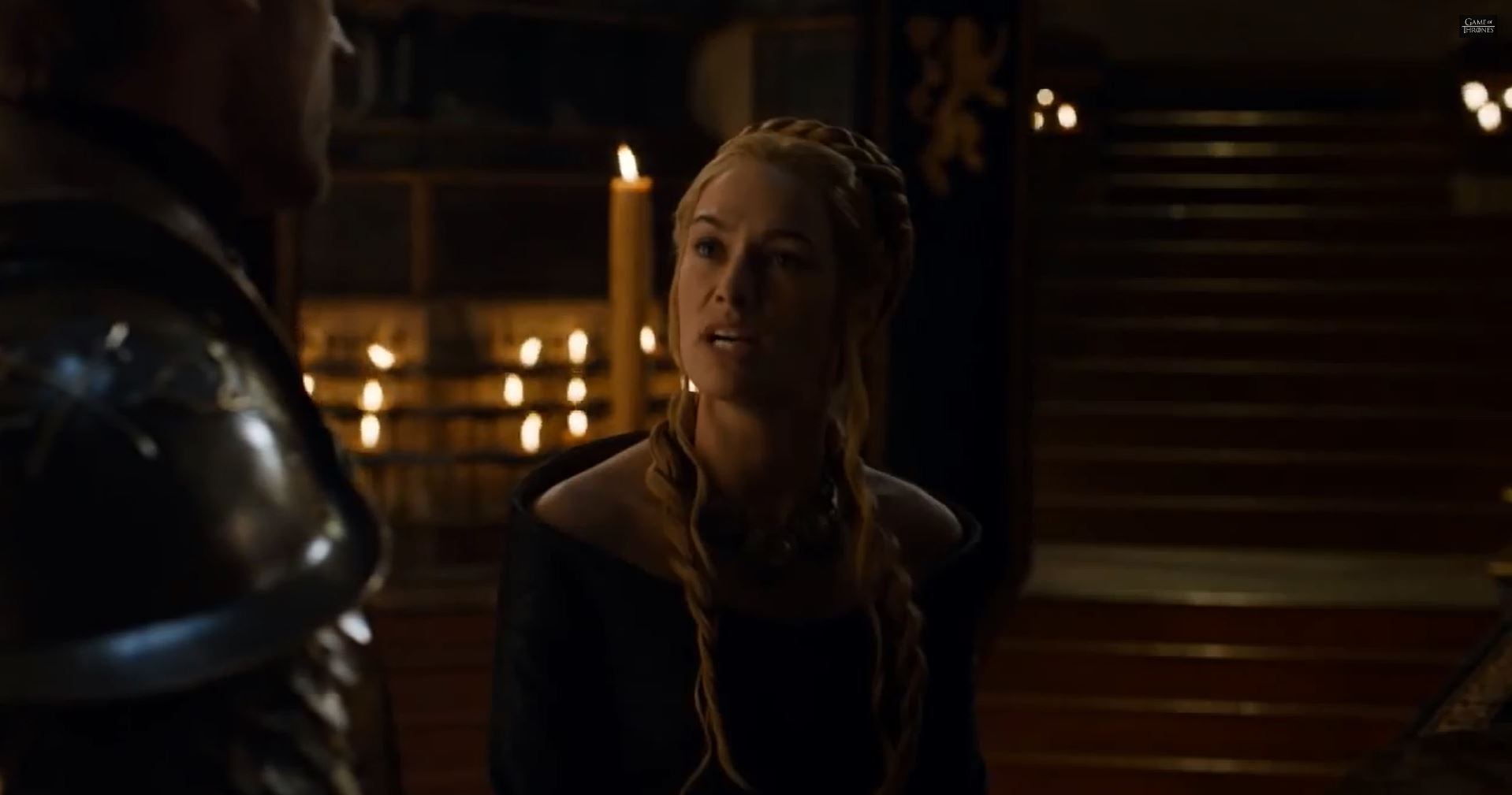 Game Of Thrones Season 5 Preview. Lena Headey as Queen Regent Cersei Lannister