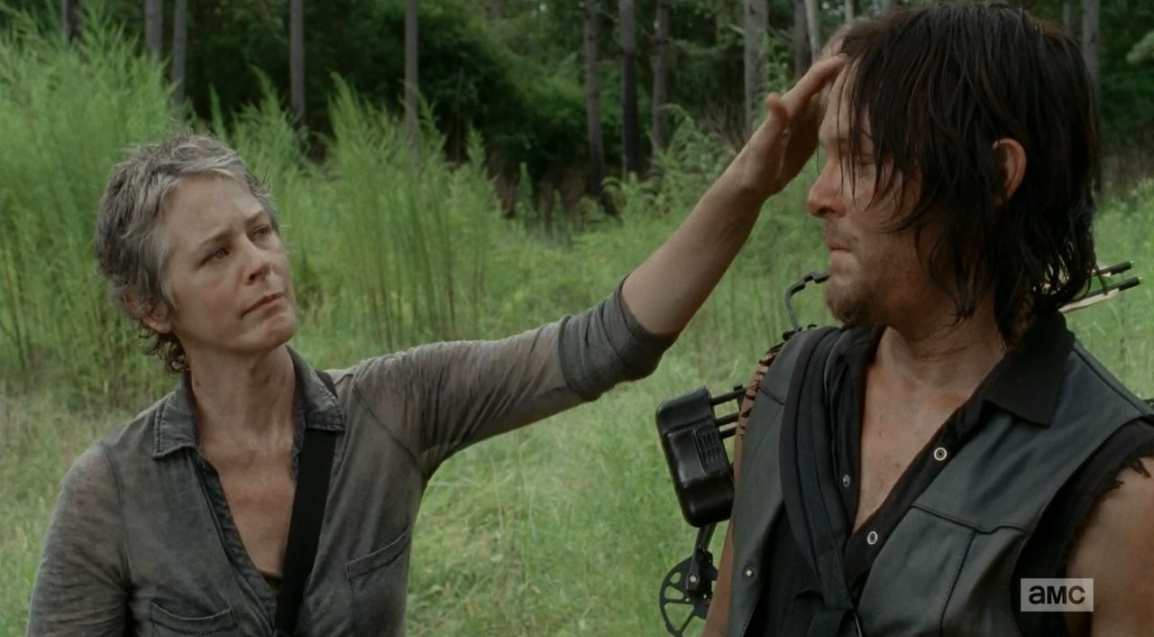 The Walking Dead S5Ep10 Them Review. Carol and Daryl share a moment