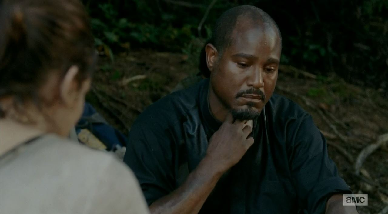 The Walking Dead S5Ep10 Them Review. Gabriel removes his collar