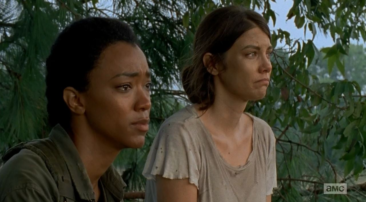The Walking Dead S5Ep10 Them Review. Sasha and Maggie also share a moment