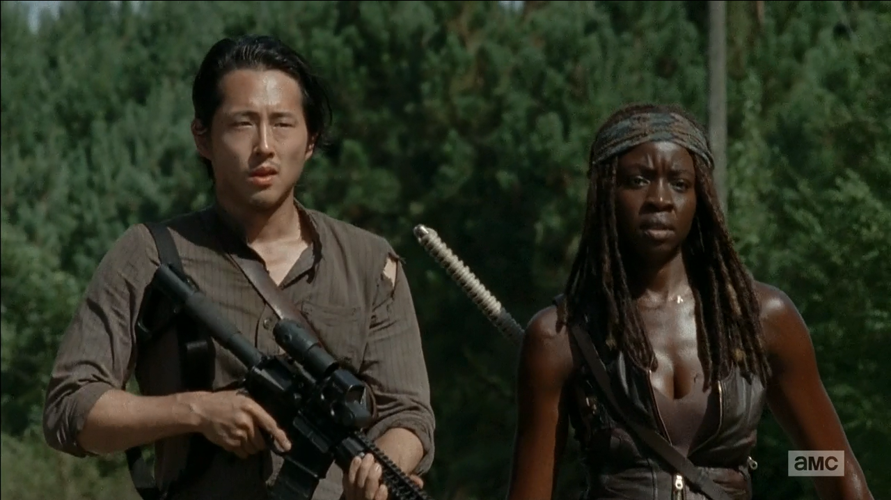The Walking Dead S5Ep11 The Distance Review. Glenn and Michonne on patrol