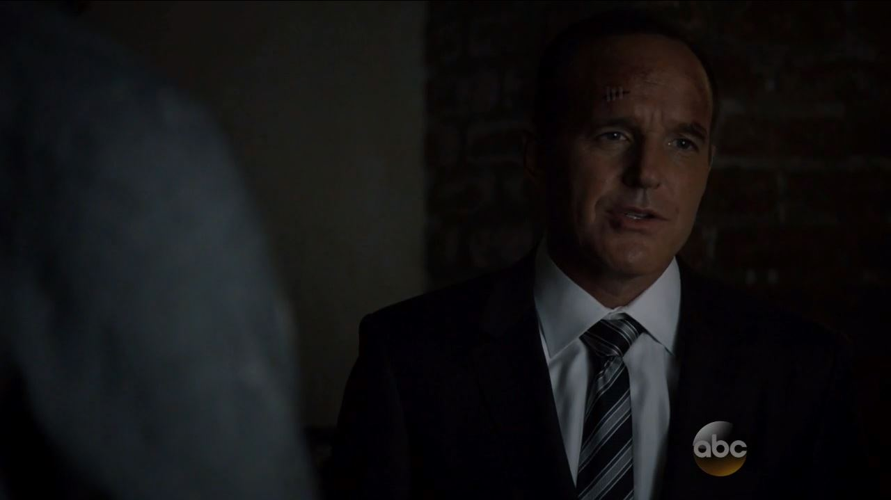 Agents of SHIELD S2Ep11 Aftershocks Review. Coulson beaten up