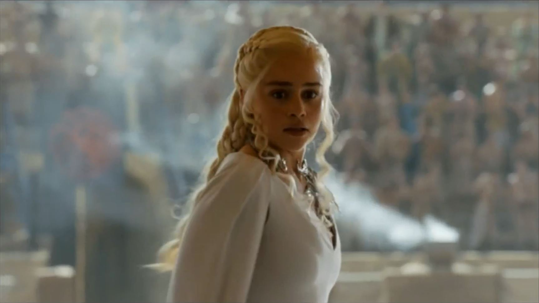 Game of Thrones Season 5 Trailer 2. Emilia Clarke as Queen Daenerys Targaryen