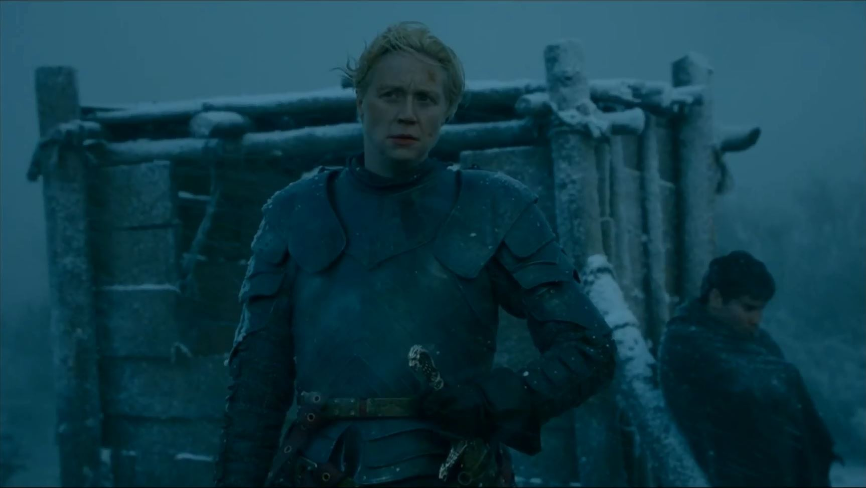 Game of Thrones Season 5 Trailer 2. Gwendoline Christie as Brienne of Tarth