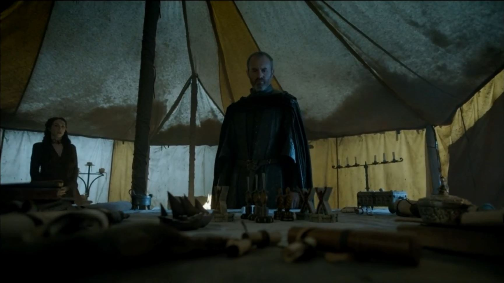 Game of Thrones Season 5 Trailer 2. Stephen Dillane as King Stannis Baratheon in the north