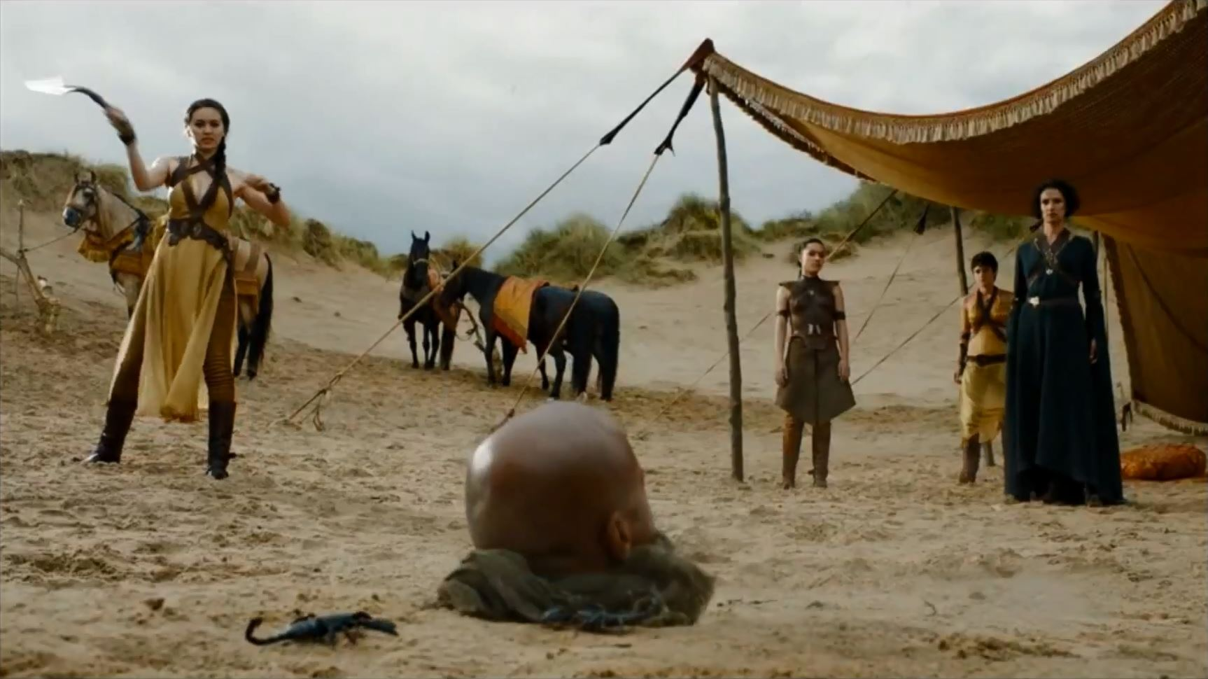 Game of Thrones Season 5 Trailer 2. The sand snakes and Elaria Sand
