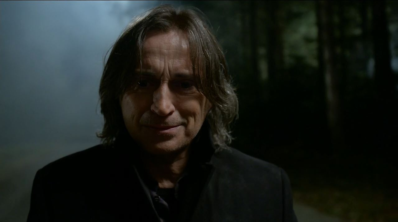 Once Upon A Time Review. Robert Carlyle as Rumplestiltskin