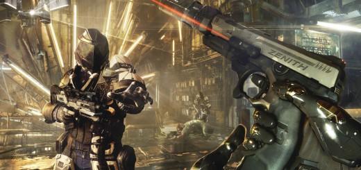 Deus Ex Mankind Divided trailer and screenshots revealed. Suppresssed handgun.