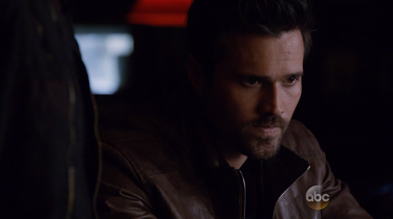 Brett Dalton as Grant Ward and Hydra. Agents Of SHIELD Season 2 Finale Review.