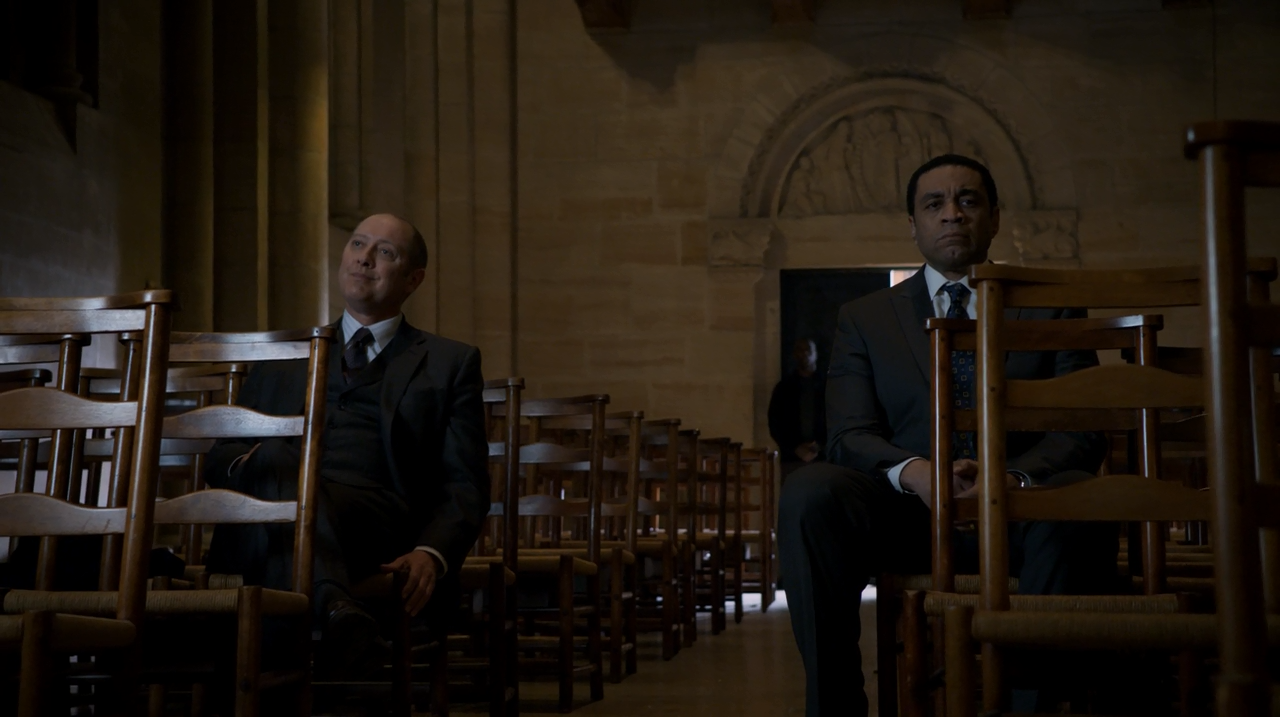Cooper and Reddington. The Blacklist Season 2 Finale Review