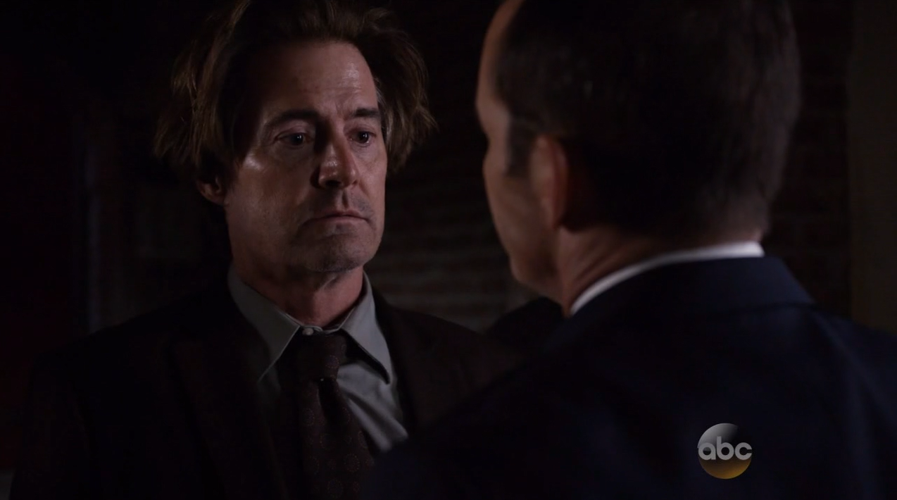 Kyle Maclachlan as Cal. Agents Of SHIELD Season 2 Finale Review