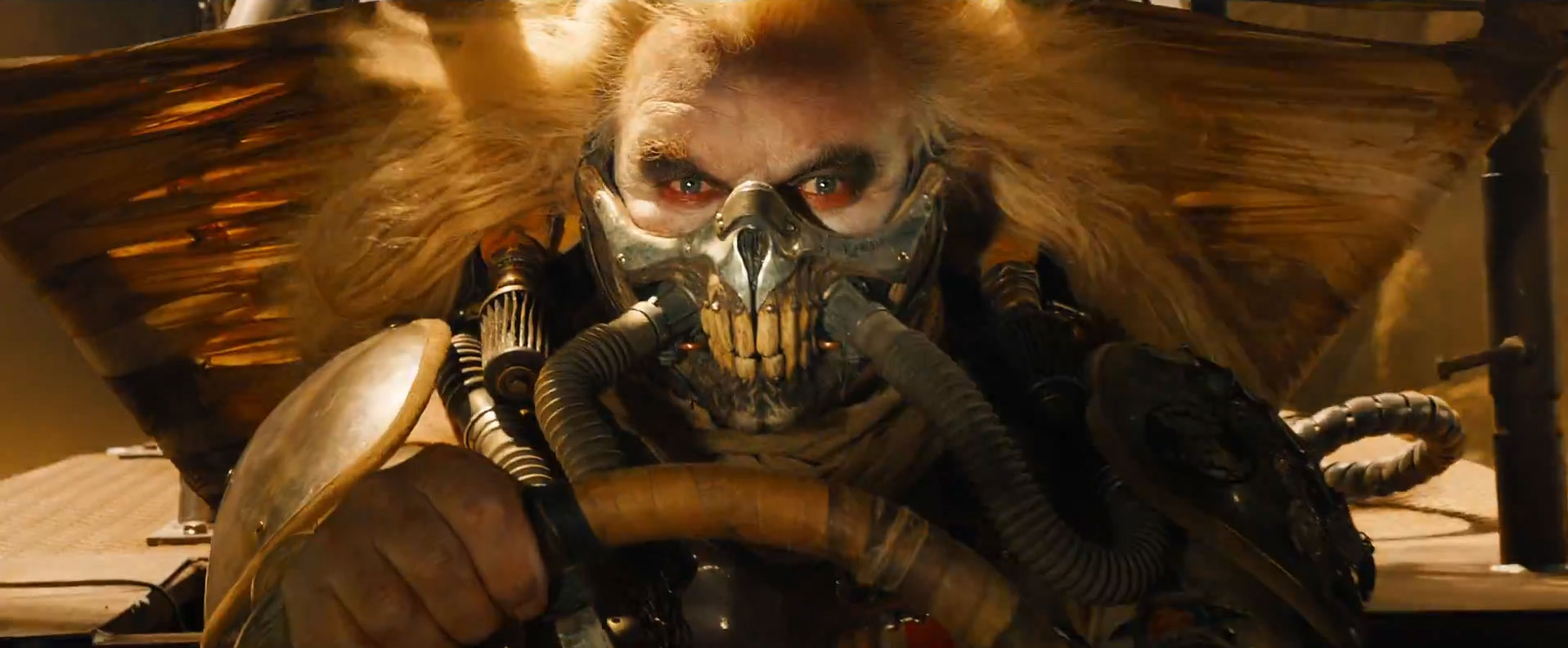 Mad Max Fury Road Review. Hugh Keays-Byrne as the diabolical Immortan Joe.