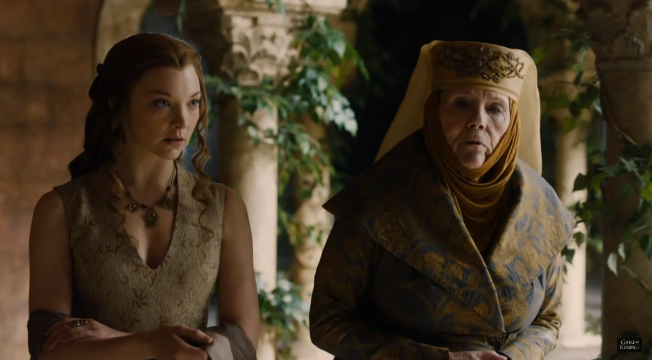 Game of Thrones S5Ep6 Margaery and Olenna Redwyne