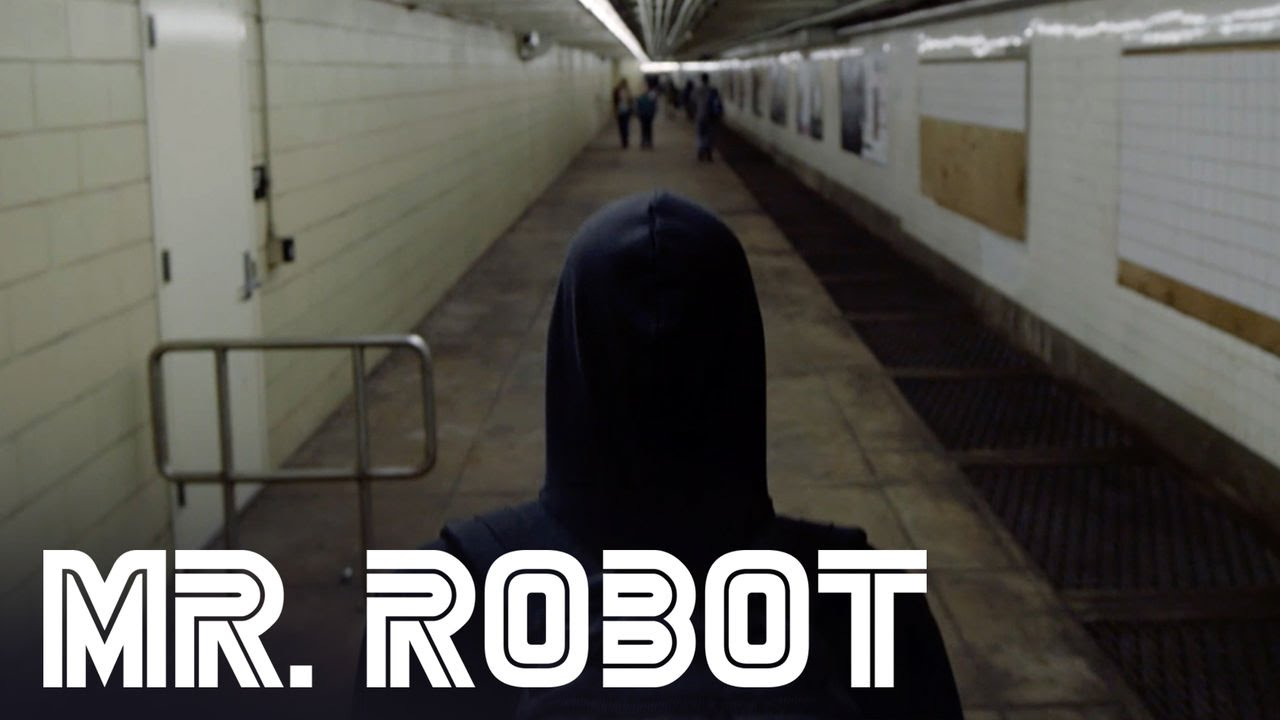 Mr. Robot Preview. Elliot in the subway