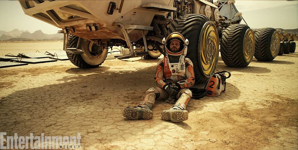Ridley Scott's The Martian first on-set pictures released