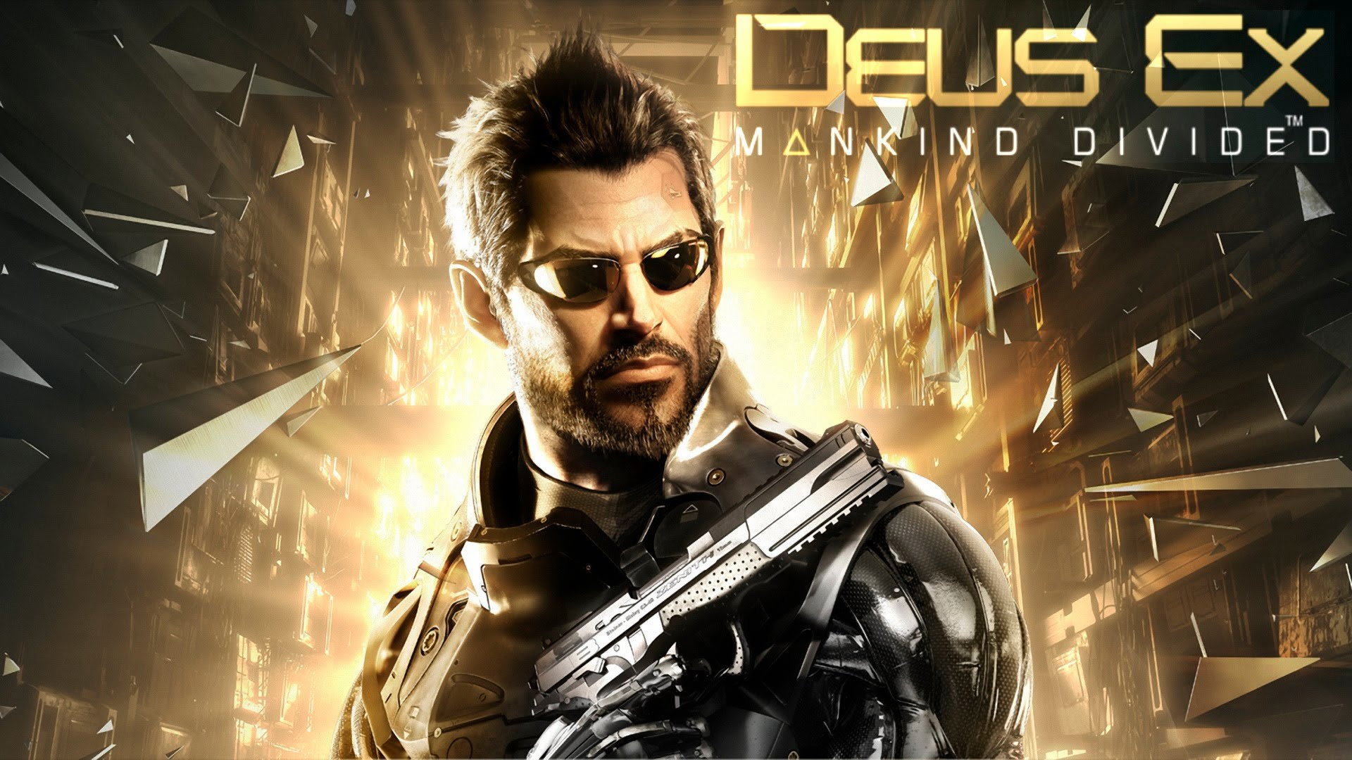 Adam Jensen in Deus Ex Mankind Divided E3 Preview Roundup!