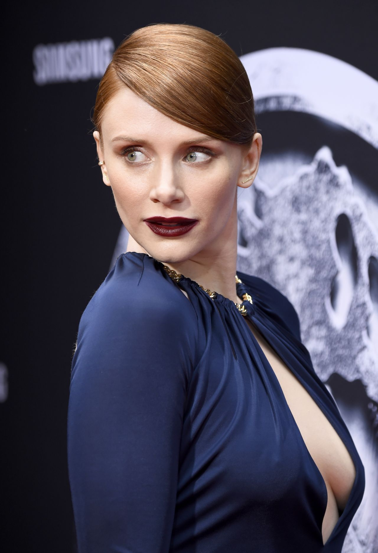 Bryce Dallas Howard at the premiere of Jurassic World Review