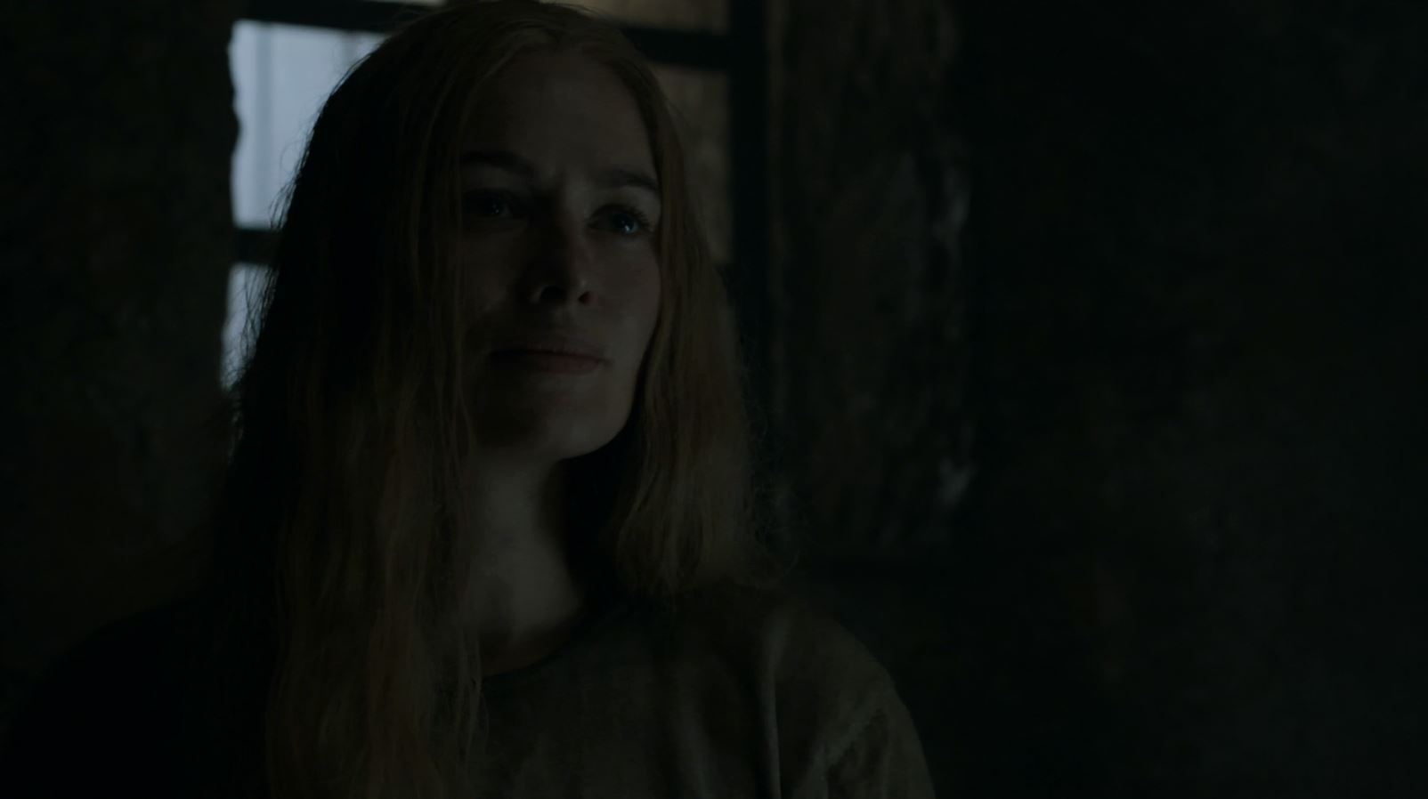 Cersei in prison (Lena Headey). Game of Thrones S5Ep8 Hardhome Review