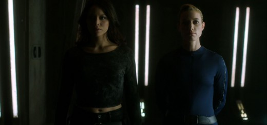 Dark Matter Episode Two Review - Melissa O'Neil as Two and Zoie Palmer as The Android