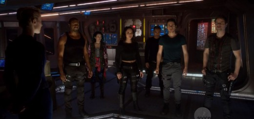 Dark Matter Series Premiere Review. Zoie Palmer, Roger Cross, Jodelle Ferland, Melissa O'Neill, Alex Mallari, Marc Bendavid and Anthony Lemke