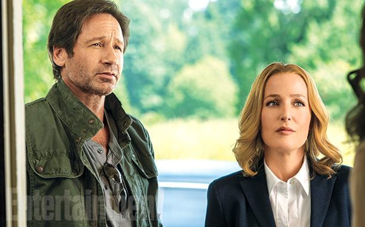 David Duchovny and Gillian Anderson in X-Files miniseries revival