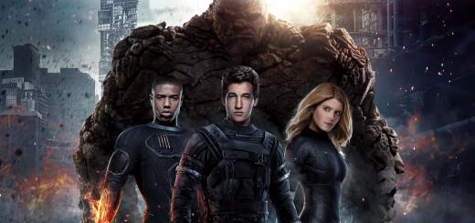 Fantastic Four 2015 cast poster